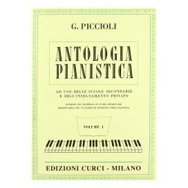 PICCIOLI GIUSEPPE ANTOLOGIA PIANISTICA VOL 1