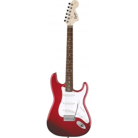 SQUIER AFFINITY STRATOCASTER METALLIC RED MAPLE NECK