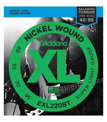 D'ADDARIO EXL220BT BALANCED XL 40/95 LONG SCALE