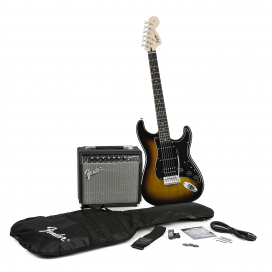SQUIER AFFINITY STRATOCASTER PACK HSS CHAMPION 20 BSB