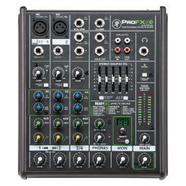MACKIE PROFX4 V2 MIXER 4 CHANNELS