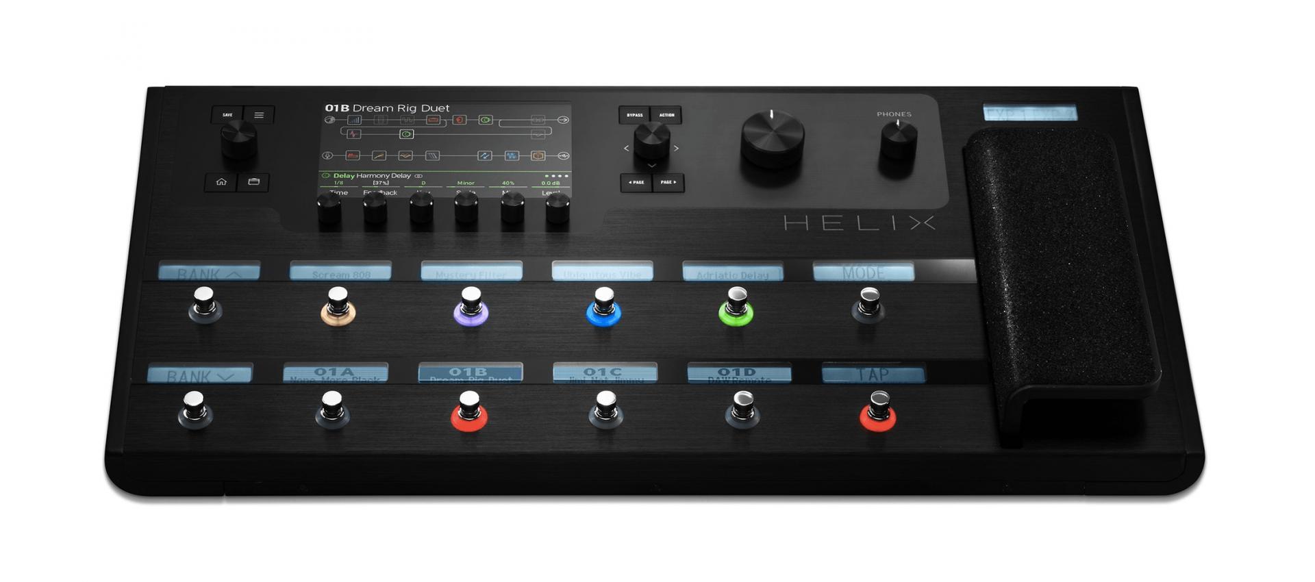 line6 helix guitar processor pedalboard version luckymusic. Black Bedroom Furniture Sets. Home Design Ideas