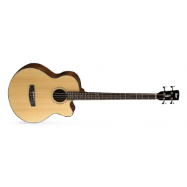 CORT AB850F NATURAL - ACOUSTIC BASS WITH BAG
