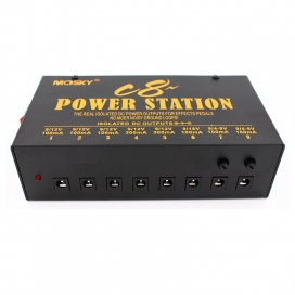 MOSKY C8 POWER SUPPLY 8 OUT 9-12-18V