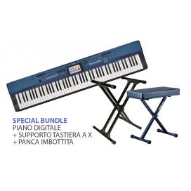 BUNDLE CASIO PX-560 + SUPPORTO TASTIERA + PANCA