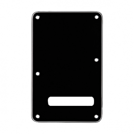 FENDER STRAT BACK PLATE BLACK
