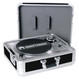 ROADINGER TURNTABLE CASE TOUR ALU-BLACK