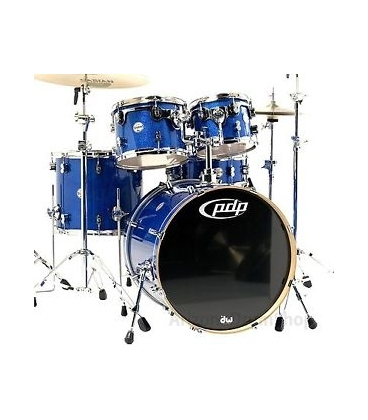 PDP BY DW CONCEPT MAPLE CM5 22/10/12/16FT/14SD BLUE SPARKLE