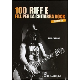 CAPONE 100 RIFF E FILL PER CHITARRA ROCK + CD