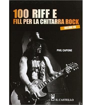 CAPONE 100 RIFF E FILL PER CHITARRA ROCK + CD