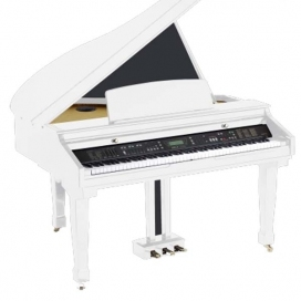 ORLA GRAND PIANO 450 WHITE