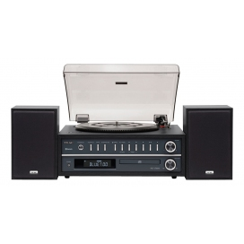 TEAC MC D800 BLACK MATTE AUDIO SYSTEM CD/TUNER/PHONO