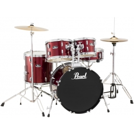 PEARL RS505C/91 ROADSHOW 5 PCS WINE RED