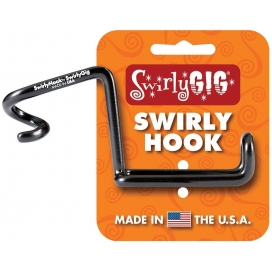 SWIRLY GIG HOOK II ACCESSORY HOLDER PER TUBO DA 1""