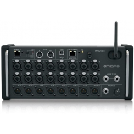 MIDAS MR18 MIXER DIGITALE 18CH PER IOS/ANDOID TABLET