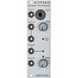 DOEPFER A-119 EXTERNAL INPUT / ENVELOPE FOLLOWER