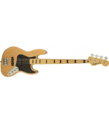 SQUIER JAZZ BASS VINTAGE MODIFIED 70S NATURAL