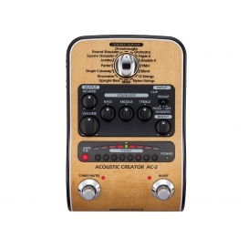 ZOOM AC-2 ACOUSTIC MULTIEFFECT