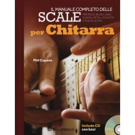 CAPONE SCALE PER CHITARRA MANUALE COMPLETO + CD