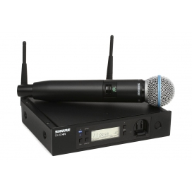 SHURE GLXD24RE BETA58A SISTEMA RADIO A MANO