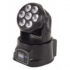SAGITTER SMART WASH PLUS MOVING HEAD SMART WASH LED RGB 7X12W
