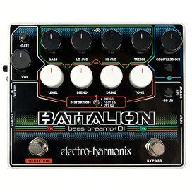 ELECTRO HARMONIX BATTALION BASS PREAMP + DI