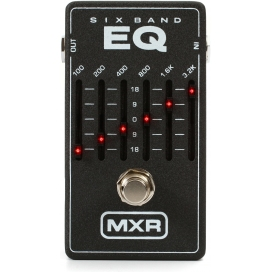 MXR M-109 6 BAND EQ SILVER