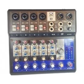 MP AUDIO MC-06X MIXER 6 CHANNEL