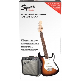 SQUIER AFFINITY STRAT PACK 10G BSB