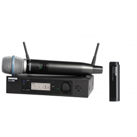 SHURE GLXD24RE BETA87A SISTEMA RADIO A MANO