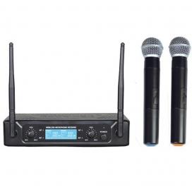 ZZIPP TXZZ502 RADIOMICROFONO DOPPIO A MANO UHF 673/688
