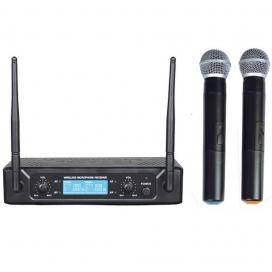 ZZIPP TXZZ512 RADIOMICROFONO DOPPIO A MANO UHF 677/696