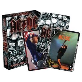 AQUARIUS AC/DC PLAYING CARD CARTE DA GIOCO - UN MAZZO