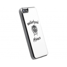 MOTORHEAD METROPOLIS LOGO WHITE IPHONE5