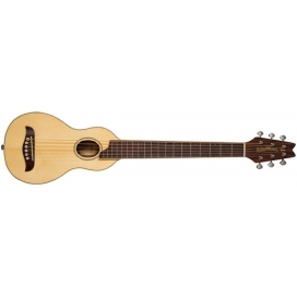 WASHBURN RO10 TRAVEL ACOUSTIC W/CASE NATURAL
