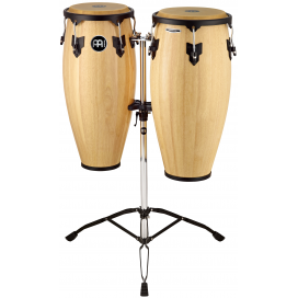 MEINL HEADLINER HC888NT SET CONGAS 10+11 E SUPPORTO