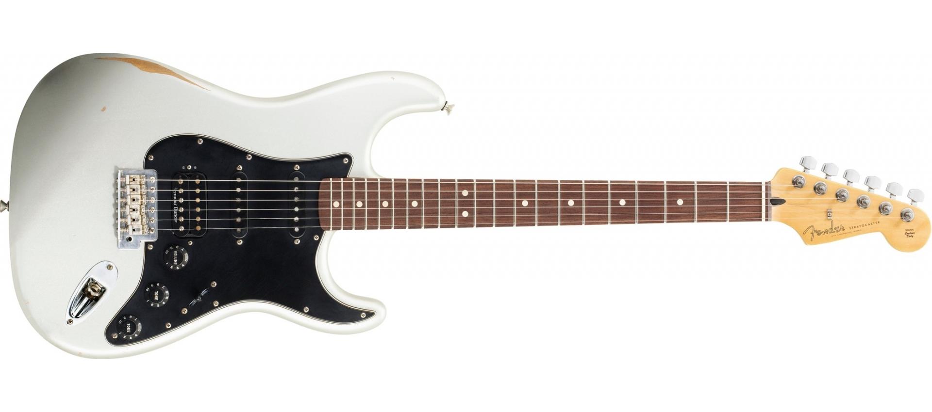 Fender Stratocaster Road Worn Player Hss Inca Silver