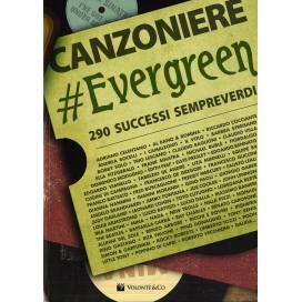 CANZONIERE EVERGREEN 290 CANZONI MB654
