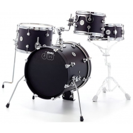 DW DESIGN MINI PRO 10TT/13FT/16BD/12SD BLACK SATIN