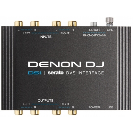 DENON DJ DS1 SERATO DIGITAL VINYL INTERFACE