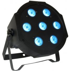 ATOMIC4DJ PAR64 LED SLIMSERIE EC 7X10W 3 IN 1