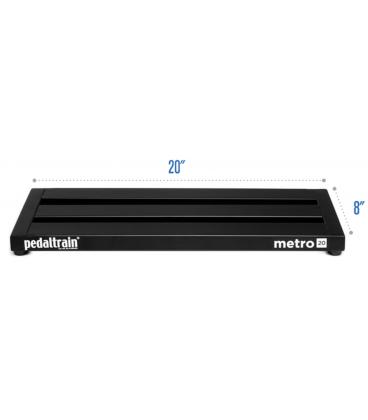 PEDALTRAIN PT-M20 TC METRO 20 TOURCASE 50.8 x 20.3 x 3.5 CM