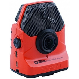 ZOOM Q2N RD REGISTRATORE AUDIO VIDEO RED
