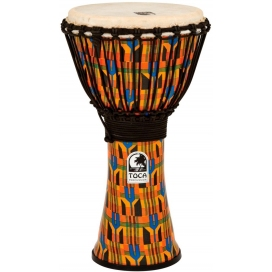 TOCA SFDJ-10K FREESTYLE DJEMBE KENTE KLOTH