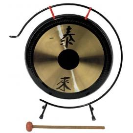 GEWA CHINA GONG 30 CM BLACK DOT - CON SUPPORTO