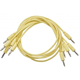 BLACK MARKET MODULAR PATCH CABLE 25 CM. 5-PACK YELLOW