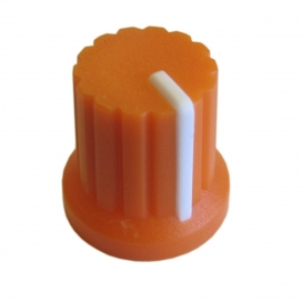 DOEPFER A-100KOR KNOB ORANGE WITH WHITE LINE