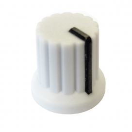 DOEPFER A-100KWH KNOB WHITE WITH BLACK LINE
