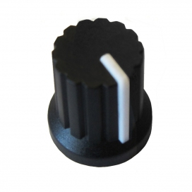 DOEPFER A-100KBK KNOB BLACK WITH WHITE LINE