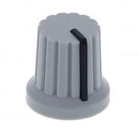 DOEPFER A-100KNGREY KNOB GREY WITH BLACK LINE